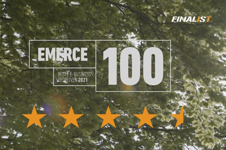 Vierde rij op jaar in Emerce Top 100